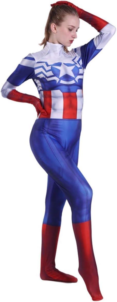 QQWE Capitán América, Traje de Cosplay, para Mujer, Peggy Carter ...