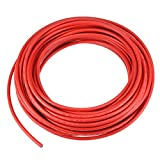 uxcell 65FT Solar PV Cable, 12 AWG, 1000V Wire, Copper, PV Approved & Sunlight Resistant, RED Color