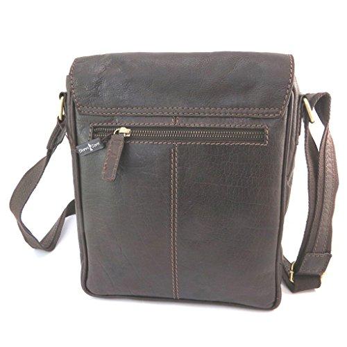 10 Leather Conti'vintage 66''x3 Bag 63''x8 27x22x10 Brown 94'' 'gianni Cm wRZ1w7