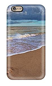 New Snap-on Dan Larkins Skin Case Cover Compatible With iphone 6 plusd 5.5- Beach Sand