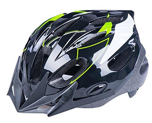 BeBeFun Safety Adjustable Size Kids Helmet for Boy Child Kid Skating Biking Mini Bike Riding Multi-Sports Lovely Helmet 3-7 Years Old Lightning Theme. (Green&Black)
