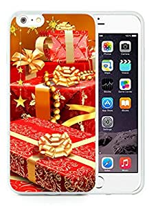 Personalized Design iPhone 6 Plus Case,Merry Christmas White iPhone 6 Plus 5.5 TPU Case 45