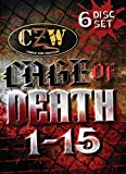 Combat Zone Wrestling - Cage of Death 1-15 Anthology DVD-R Set