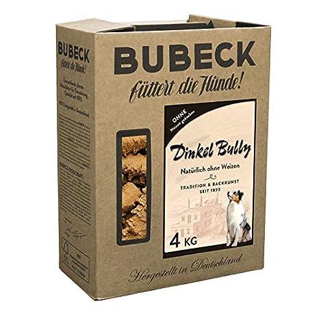 bubeck Espelta Bully 4 kg de galletas: Amazon.es: Productos para mascotas