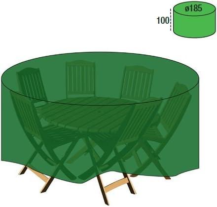 PAPILLON 8327035 Funda Cubre Mesa/Conjunto Diámetro 185x100 cm