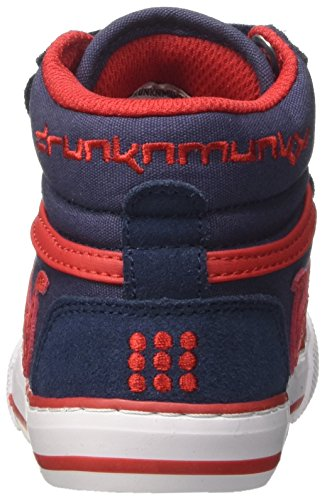 Boston Tennis Scarpe Vitaminix Blu DrunknMunky Red da Navy Bambino 1z4pqxxwd