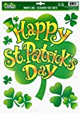 Happy Saint Patrick's Day Window Cling