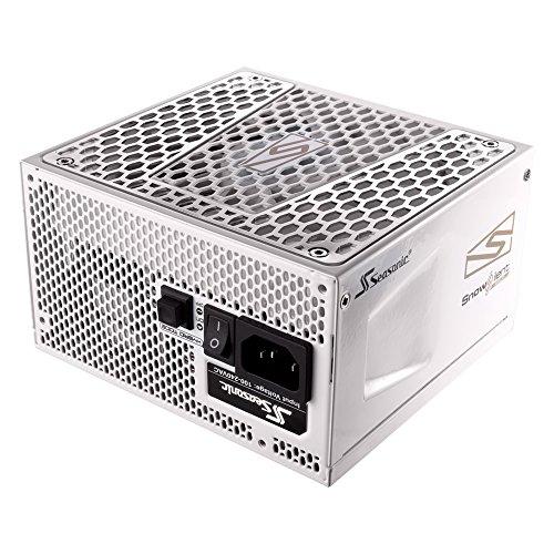 (Seasonic Prime Snow Silent 550 Gold SSR-550GD2 550W 80+ Gold ATX12V & EPS12V Full Modular 135mm FDB Fan Power On Self Tester 12 Year Warranty Power Supply Color White)