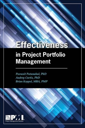 Effectiveness in Project Portfolio Management pdf
