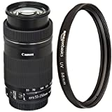 Canon EF-S 55-250mm F4-5.6 IS STM Lens with UV Protection Filter - 58 mm