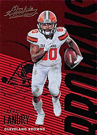 2018 Absolute Football #24 Jarvis Landry Cleveland Browns Official NFL Trading Card made by Panini