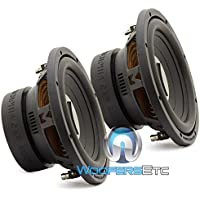 (2) PR10S4V2 - Pair of Memphis Power Reference 10 SVC 4 ohm Subwoofers