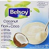 BELSOY Coconut Gluten Free Dessert (4X125gr), 500 Grams