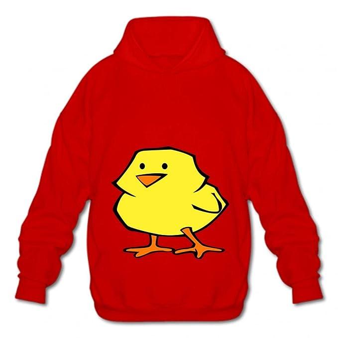 Foxinjishuc Sweatshirts Cotton Pullover Hooded Fashion Hoodies-03 Cartoon Chicken lsaf Mens Style