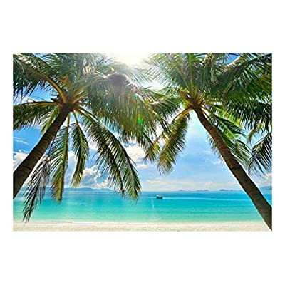 Large Wall Mural Tropical Scenery with Palm Trees...