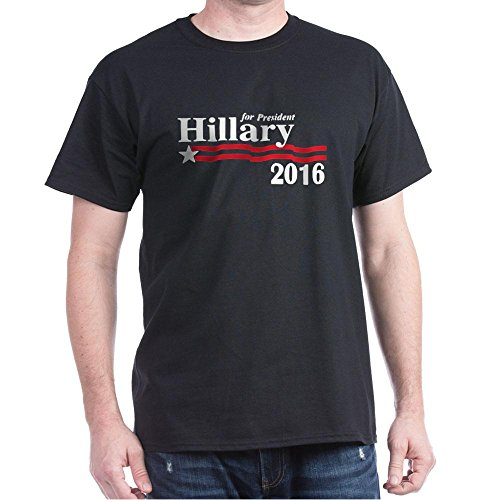 CafePress - Hillary Clinton For President 2016 Campaign T-Shir - 100% Cotton T-Shirt, Crew Neck, Soft and Comfortable Classic Tee with Unique Design