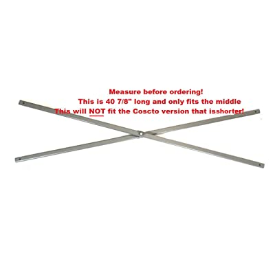 """Coleman 13x13 Instant Eaved Shelter Canopy -Middle Truss Bars 40 7/8"""" Parts : Garden & Outdoor"""