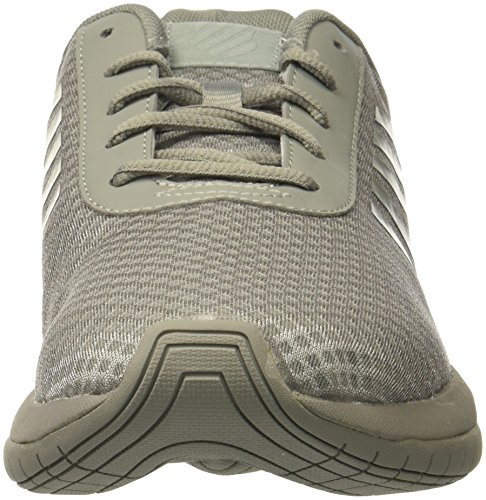 K-Swiss Mens Tubes Infinity Sneaker, Neutral Gray, 13 M US