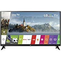 LG 32-Inch 720p Smart LED TV 32LJ550B (2017) (Certified Refurbished)