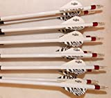 Carbon Express Maxima Red SD 350 Carbom Arrows w/Blazer Vanes Wraps 1 Dz.