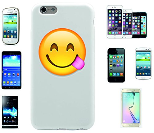 Phone Case Apple Iphone 6 Smiley Face Enjoying The Tasty Food