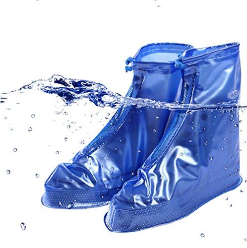 Blau per antiscivolo scarpe scarpe donna ciclisti scarpe pioggia impermeabile protezione copriscarpe CCZZ protezione uomo da Neutral per protezione antipioggia qFxanvwTUB