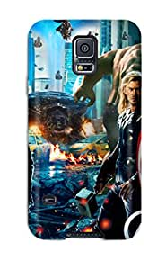 New Fashion Premium Tpu Case Cover For Galaxy S5 - The Avengers 54