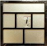 Foundations Decor Magnetic Shadow Box-Black 12''X12''