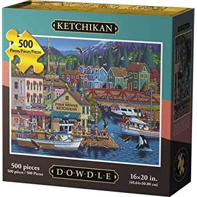 Dowdle Jigsaw Puzzle - Ketchikan - 500 Piece: Toys & Games