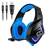Best Headset With Microphone Remotes - PS4 Gaming Headset, YKS Xbox PS4 Gaming Headphone Review