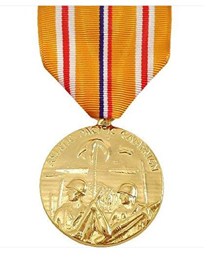Vanguard FULL SIZE MEDAL ASIATIC PACIFIC CAMPAIGN - 24K GOLD PLATED ()