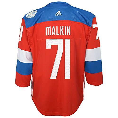 buy online 61108 9c7bf Team Russia 2016 World Cup Of Hockey Evgeni Malkin Youth Red ...
