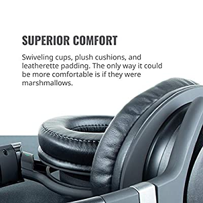 Cooler Master MH-751 MH751 2.0 Gaming Headset with Plush, Swiveled Earcups, 40mm Neodymium Drivers, and Omni-Directional Boom Mic for PC, PS4, and Xbox