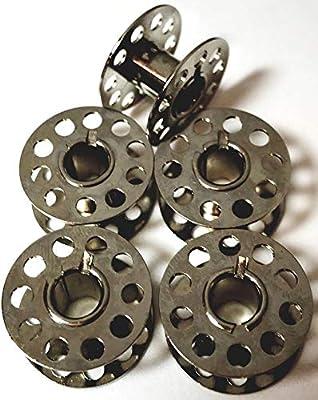 5 bobinas de metal para Singer 2282 8280 1507 2250 2259 2263 2273 ...