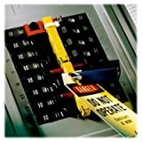 3M Panelsafe PS-0712 Yellow Circuit Breaker Lockout System - Pin Style - 12 breaker slots - PS-0712 [PRICE is per EACH]