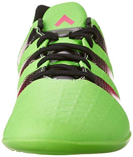 adidas Performance Herren Ace 16.3 im Fußballschuh Shock Green / Shock Pink / Schwarz
