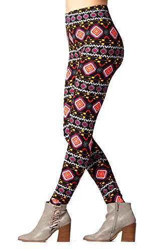 - Conceited Super Soft High Waisted Printed Leggings for Women - On Target - Plus Size (12-24)