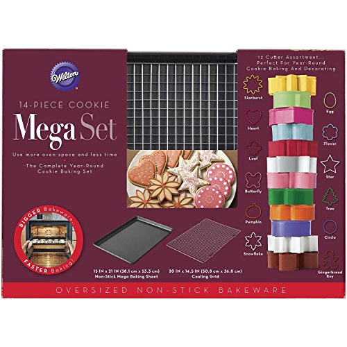 Wilton 14-piece Cookie Mega Set