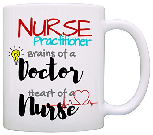 Buy cheap fun nurse practitioner coffee mug cool unique gift and printed both sides