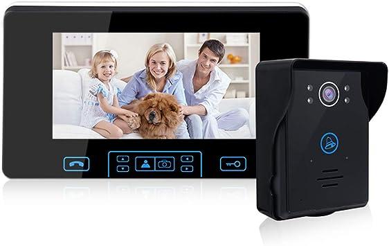 Wireless WIFI 2.4G Doorbell Camera Security Monitor Door Phone Auto Photo Cloud