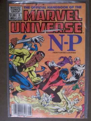 (The Official Handbook of the Marvel Universe #8 : From Namorita to Pyro (Marvel Comics))
