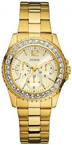 GUESS Factory Women's Gold-Tone Multifunction Watch