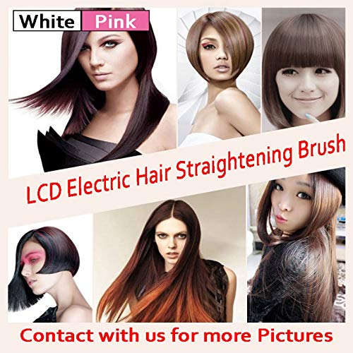 Amazon.com : Hot LCD Fast Hair Straightener Comb Styler ...