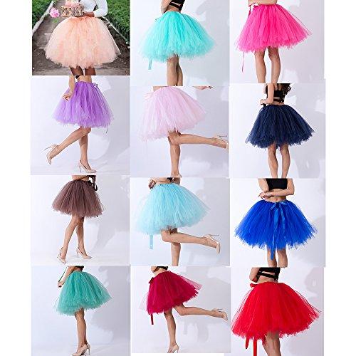 Neu Damen Sommer Minirock Tutu Mesh Röcke Sexy Skirt Boho Prinzessin Unterrock A-line Skirt Hochzeit Party Lila ieKFAz