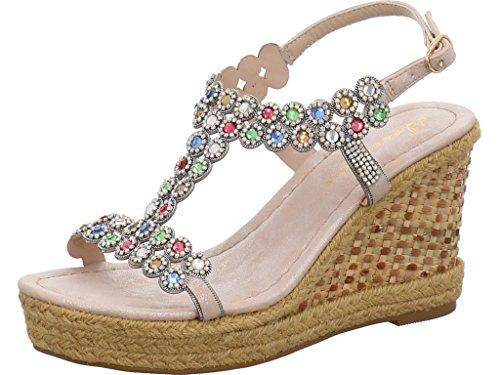 Alma en Pena Women's Fashion Sandals multi-coloured