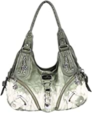 Angelkiss Purses Handbags Hobo Shoulder Bags Top-Handle Crossbody Bags for Women AK11282