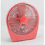 """Dynexâ""""¢ - 9 Table Fan - Poppy Red"""