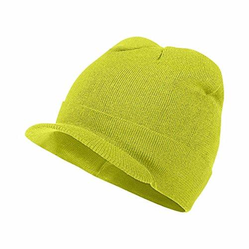 Knit Radar - Nike Unisex Run Crew Radar Knit Running Hat Cap-Yellow