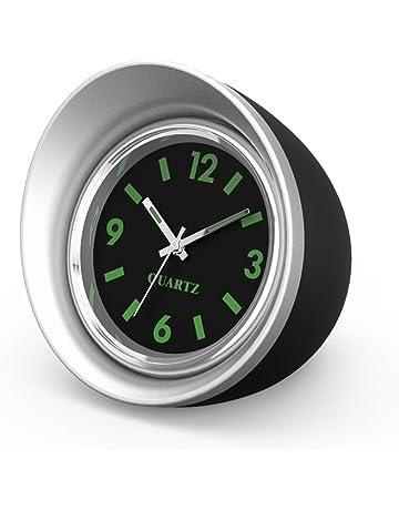 Sunsbell Mini reloj del coche de alta precisi¨n de reloj del coche peque?