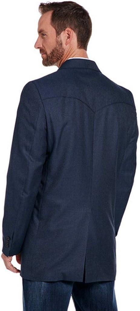 Circle S Mens Navy Carson City Sport Coat Tall Cc2135-Tll